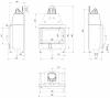 Kratki MBO 15 légfűtéses sík üvegű acél kandallóbetét kandalloshop