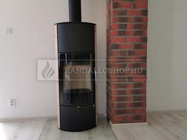 Romotop LAREDO 04 AKUM hőtárolós, homokkő, lemez modern, minőségi, acél kályha kandalloshop