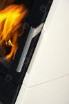 Romotop Riano N02 kerámia, lemez, modern, minőségi, acél, kandallókályha széles üveggel kandalloshop