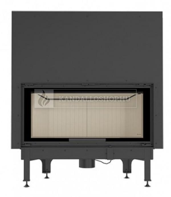 Kratki NADIA 14 G exkluzív sík üvegű légfűtéses kandallóbetét liftes tolóajtóval kandalloshop