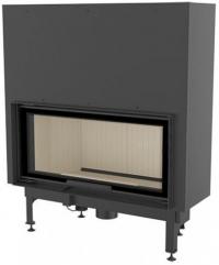 Kratki NADIA 14 G exkluzív sík üvegű légfűtéses kandallóbetét liftes tolóajtóval