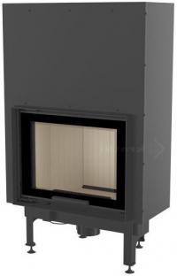 Kratki NADIA 10 G exkluzív sík üvegű légfűtéses kandallóbetét liftes tolóajtóval