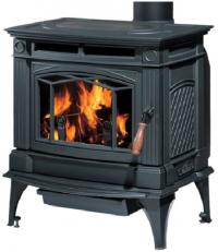 Hampton H300 másodlagos égéssel ellátott minőségi kanadai kályha fekete
