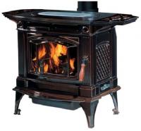 Hampton H305 másodlagos égéssel ellátott minőségi kanadai kályha barna zománc