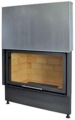 Kobok Chopok VD 1370/450 510 570 sík üvegű légfűtéses kandallóbetét liftes tolóajtóval