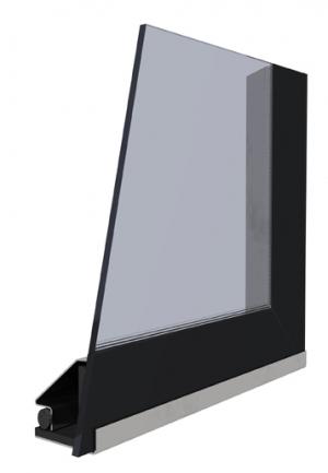 Kobok Chopok 2R90 S-380 modern üveg kandalloshop