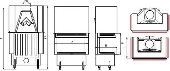 2R90 S-380 portál kandalloshop
