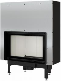 Kratki NADIA 12 G exkluzív sík üvegű légfűtéses kandallóbetét liftes tolóajtóval