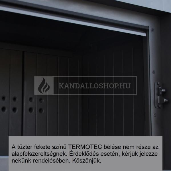 Kratki LUCY 14 SLIM sík üvegű légfűtéses kandallóbetét kandalloshop