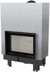 Kratki MBM 10 G exkluzív sík üvegű légfűtéses kandallóbetét liftes tolóajtóval