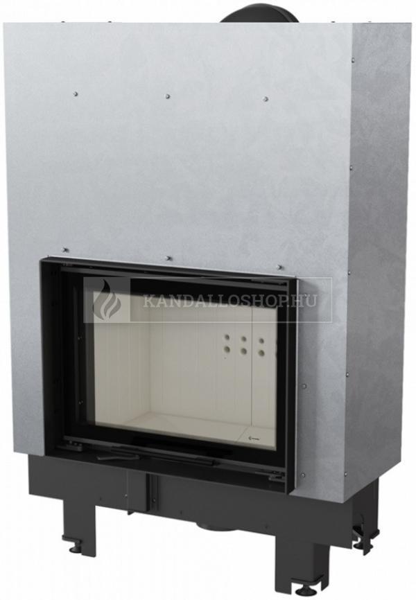 Kratki MBM 10 G légfűtéses sík üvegű acél kandallóbetét liftes tolóajtóval kandalloshop