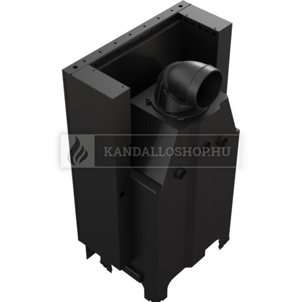 Kratki MBZ 13 G légfűtéses sík üvegű acél kandallóbetét liftes tolóajtóval kandalloshop