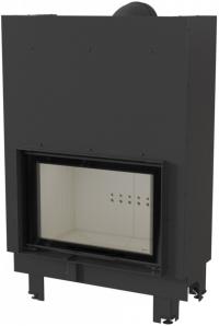 Kratki MBO 15 G sík üvegű légfűtéses acél kandallóbetét liftes tolóajtóval