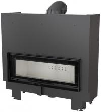 Kratki MB 100 G sík üvegű légfűtéses acél kandallóbetét liftes tolóajtóval