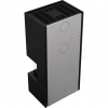 Kratki NBC 7 HOME EASY BOX három oldalas légfűtéses acél kandallóbetét liftes tolóajtóval