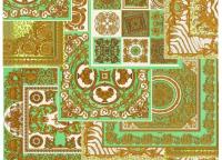 A.S. Création Versace 4 #37048-2 gyapjú tapéta vinil felülettel